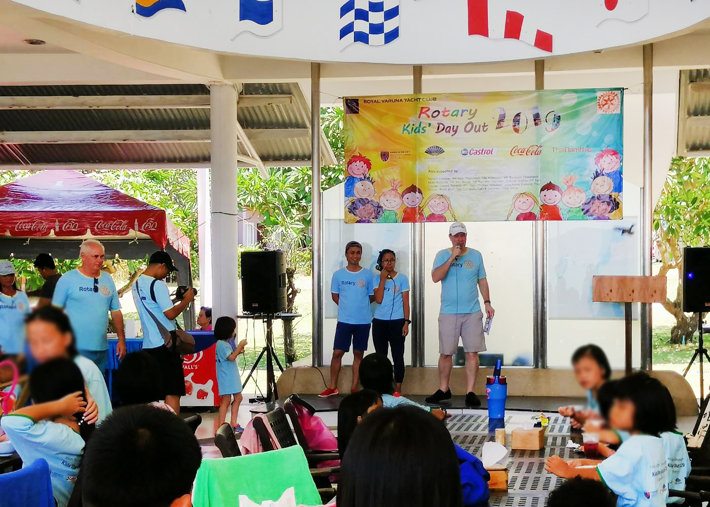 กิจกรรม​ Kid's Day​ Out​ ณ​ Royal​ Varuna Sailing Club